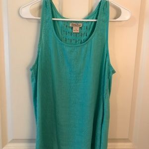 Lucky Brand Turquoise Tank